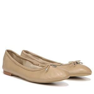 Sam Edelman Felicia Nude Leather Ballet Flat 7.5